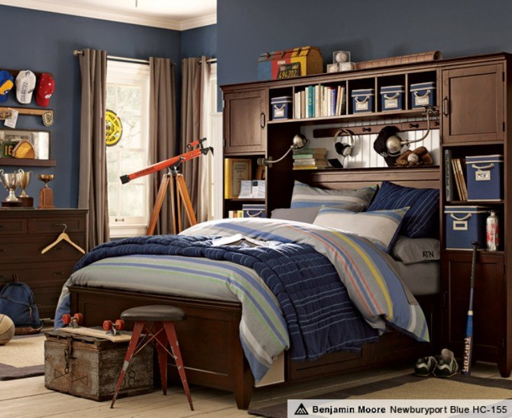 Best 46 Stylish Ideas For Boy's Bedroom Design Kidsomania With Pictures