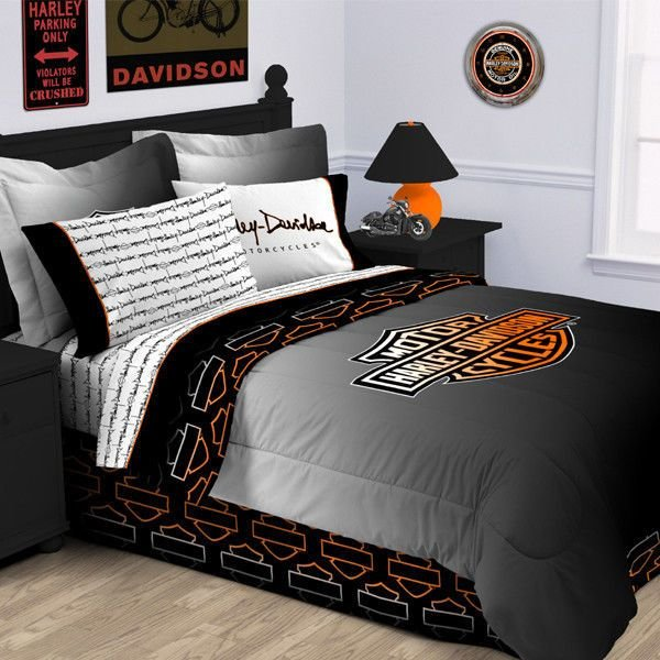 Best Harley Davidson Rebel Comforter Twin Size Love Cars Motorcycles With Pictures