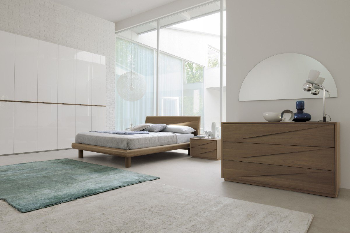 Best Genesis 07 Made In Italy Contemporary Bed With Pictures