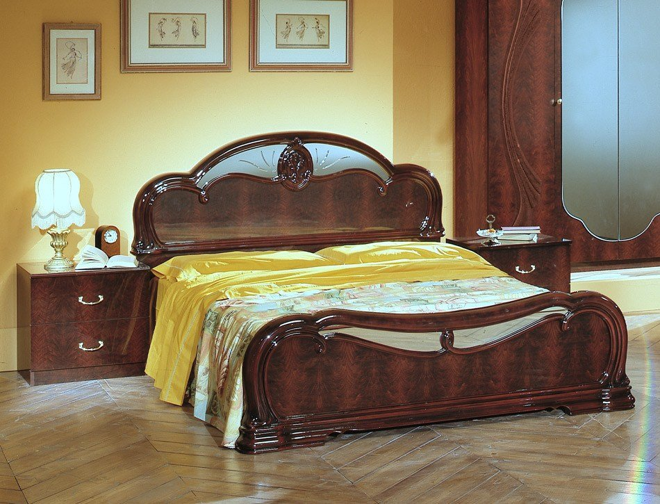 Best Melania Italian Classic 5Pc Bedroom Set With Pictures