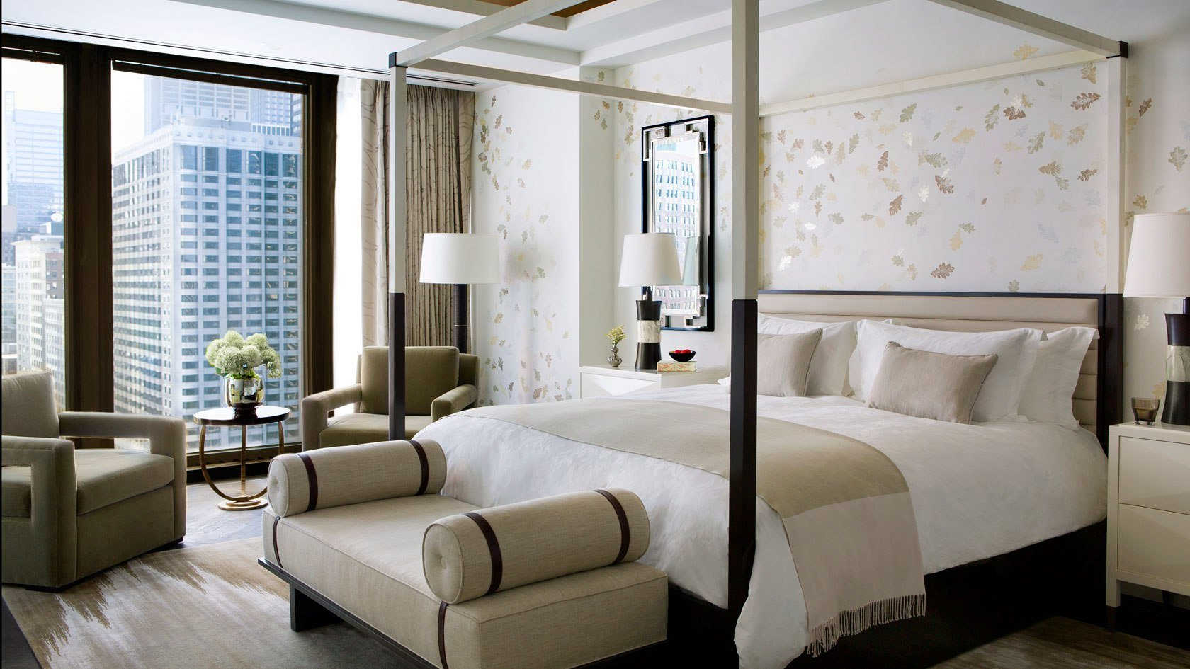 Best Luxury Two Bedroom P*Nth**S* Suite The Langham Chicago With Pictures