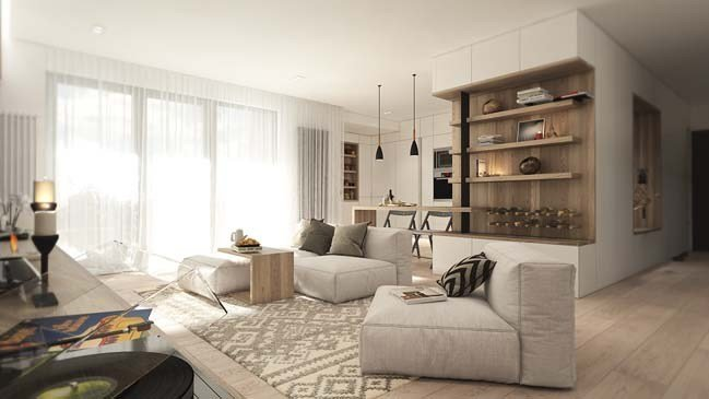 Best Warm And Cozy Apartment Design By Noi Studio With Pictures