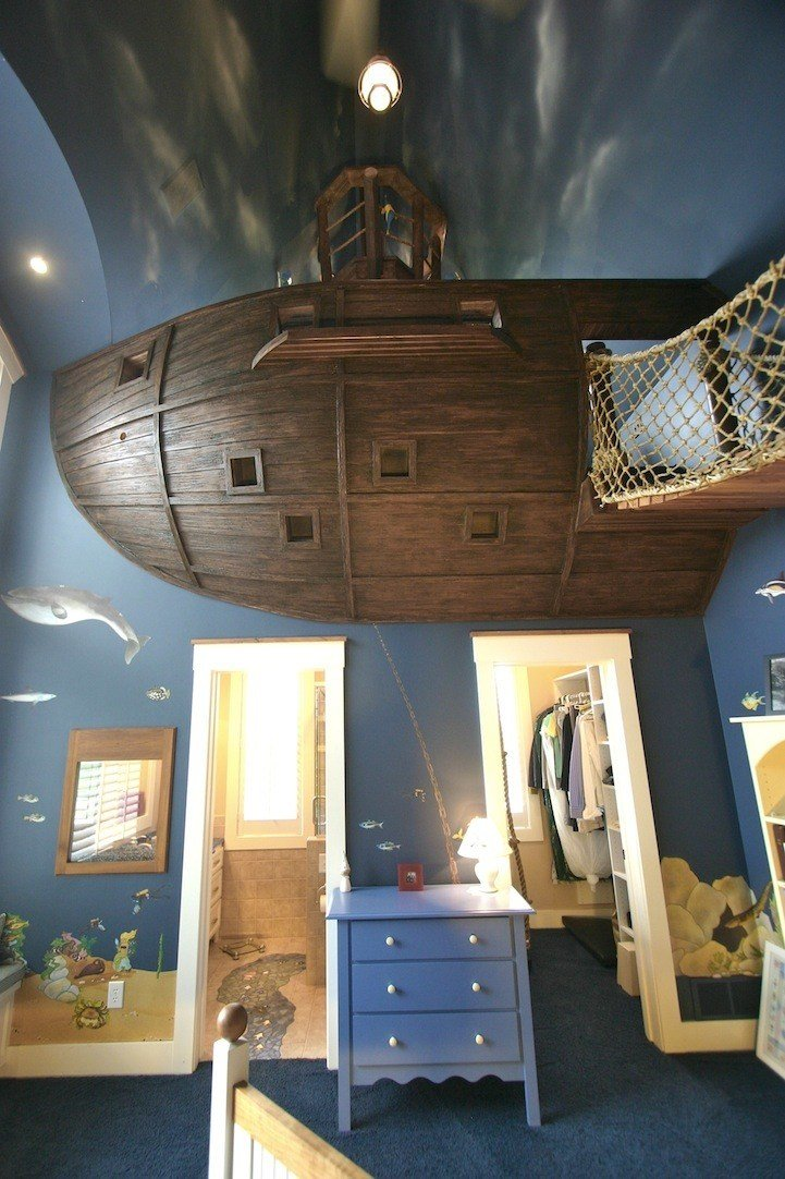 Best The Ultimate Pirate Ship Bedroom My Modern Met With Pictures