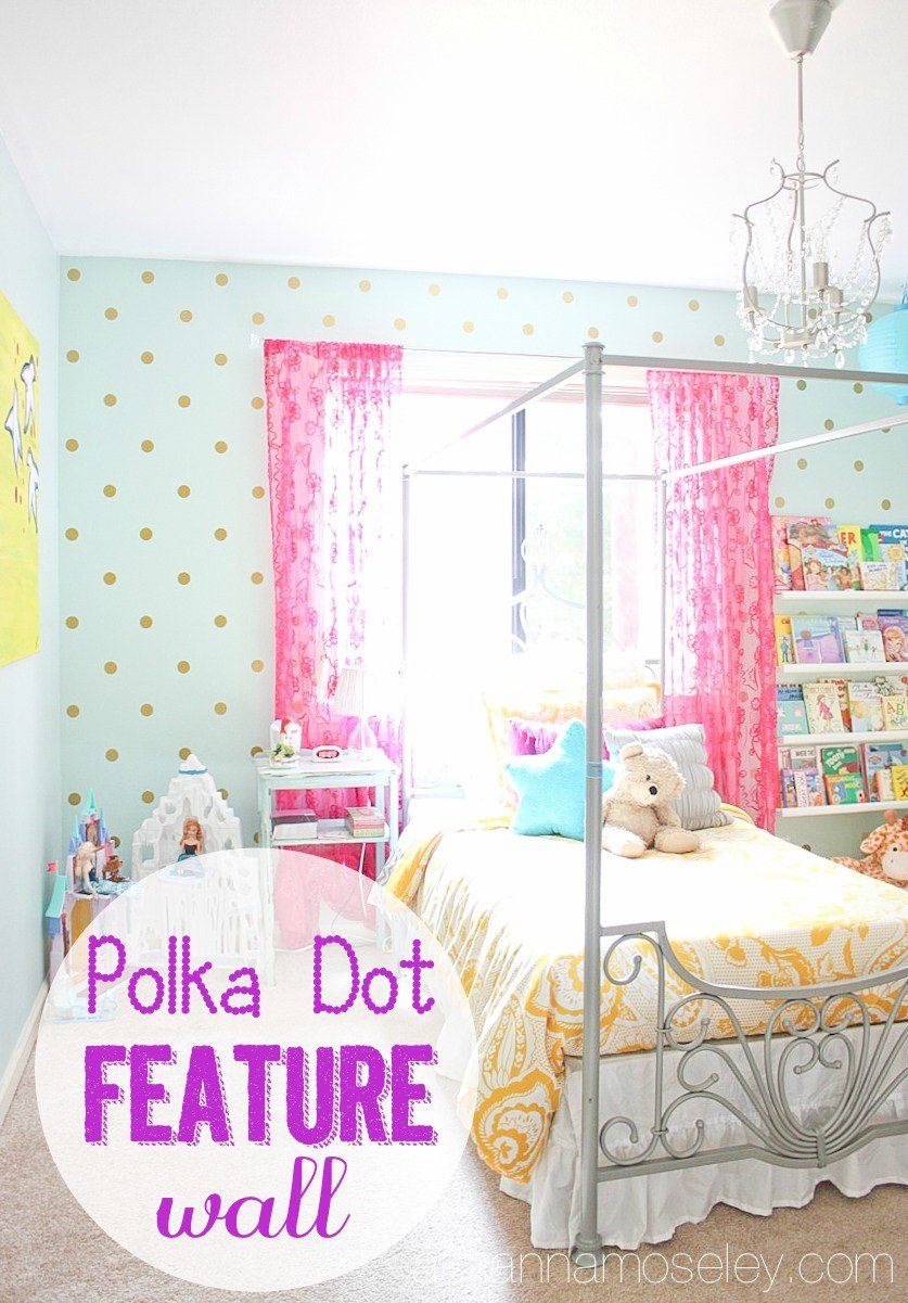 Best Polka Dot Bedroom Wall Ask Anna With Pictures