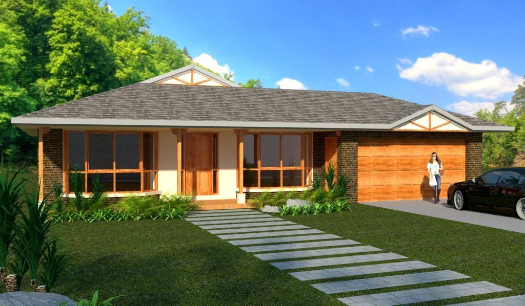 Best 3 Bedroom House Plans Homestead Double Garage With Pictures