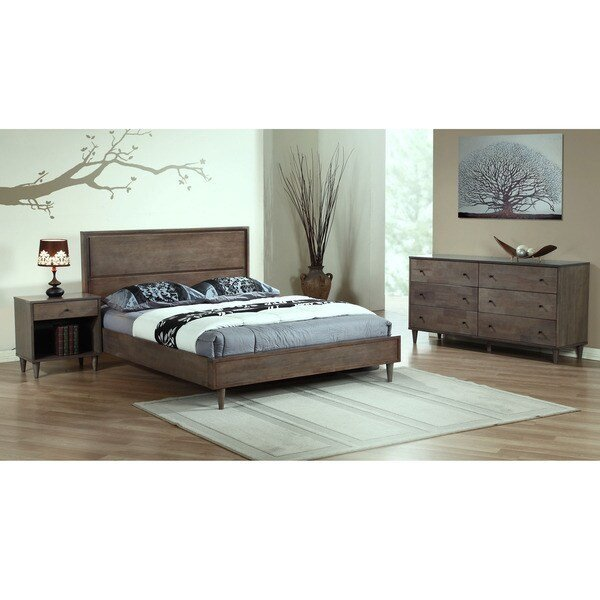 Best Vilas Light Charcoal King Bed 80004612 Overstock Com With Pictures