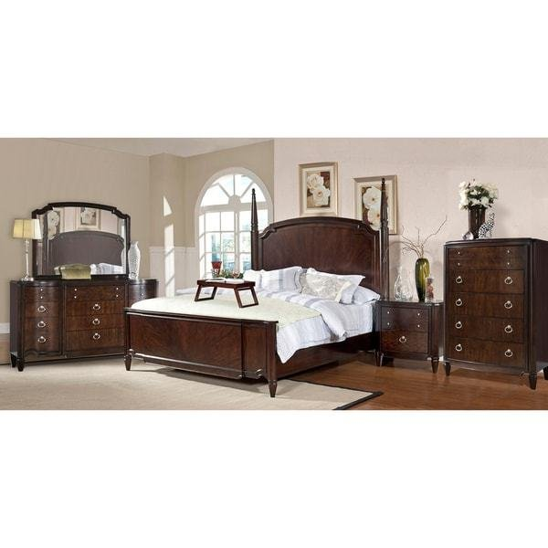 Best Milieu Park 5 Piece King Size Poster Bedroom Set With Pictures