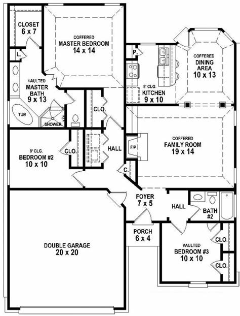 Best Four Bedroom House Plans Two Story One Ranch Style With Pictures