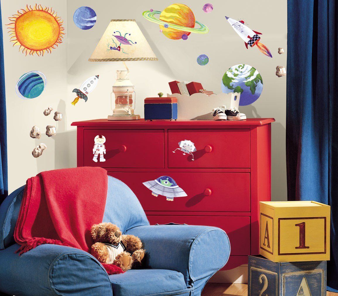 Best Space Themed Rooms Decorating Planets And Spaceships With Pictures