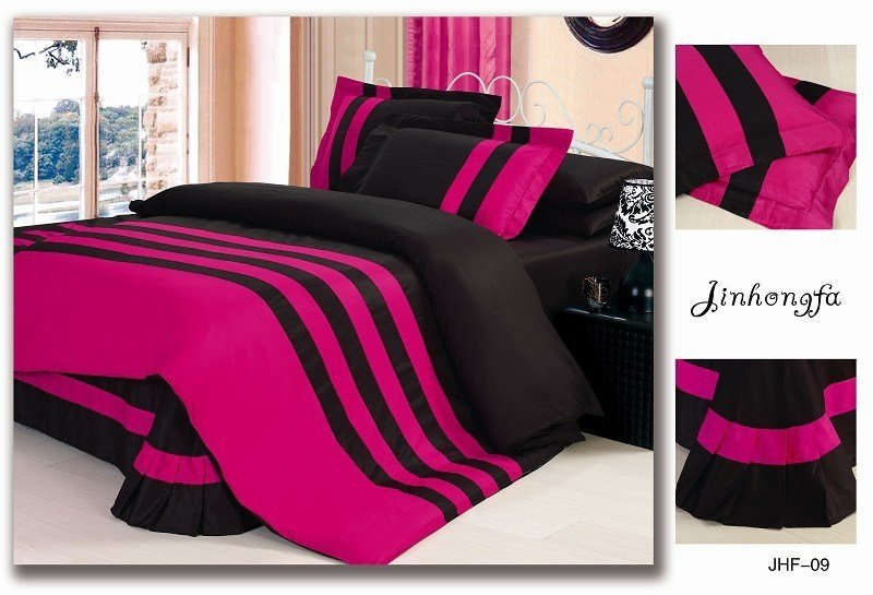 Best Buy Pink And Black Bedding Sets From Bed Bath Beyond For With Pictures