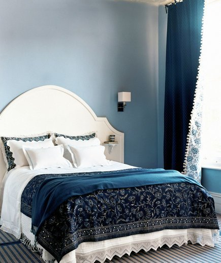 Best Shades Of Blue 30 Modern Bedroom Ideas Real Simple With Pictures