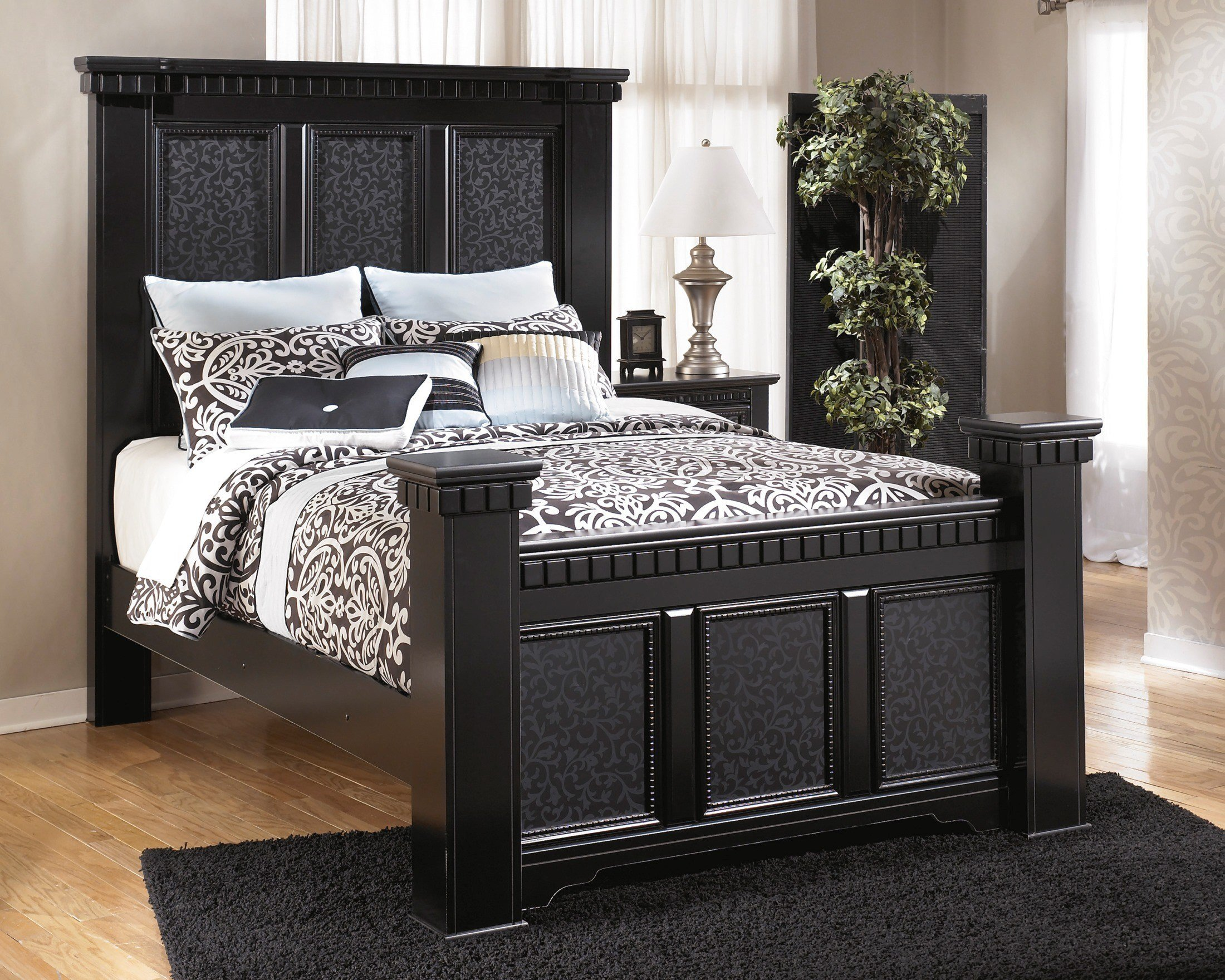Best Ashley Cavallino Mansion Bedroom Set B291 Bedroom With Pictures