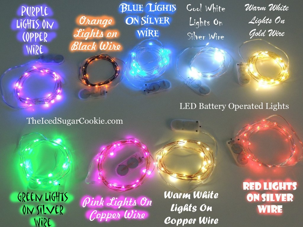 Best Blue Led Battery Fairy Lights Bedroom Fairy Lights Wedding Lights Decorations — Church House With Pictures