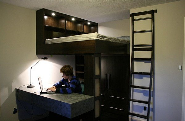 Best Loft Beds With Desks Underneath 30 Design Ideas With With Pictures