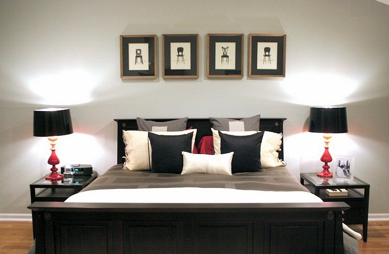 Best Bold Black And White Bedrooms With Bright Pops Of Color With Pictures
