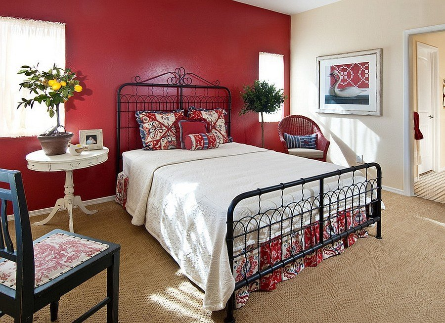 Best 23 Bedrooms That Bring Home The Romance Of Red With Pictures