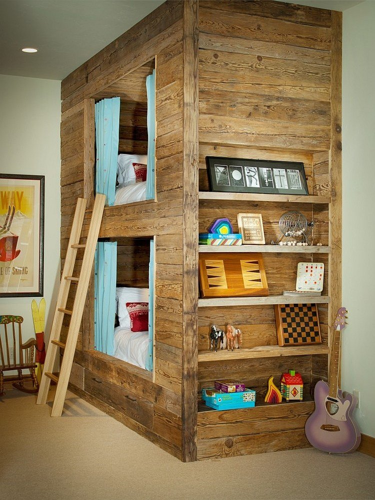 Best Rustic Kids' Bedrooms 20 Creative Cozy Design Ideas With Pictures