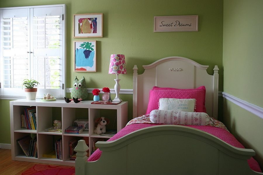 Best Girls' Bedroom In Pink And Green With Pictures