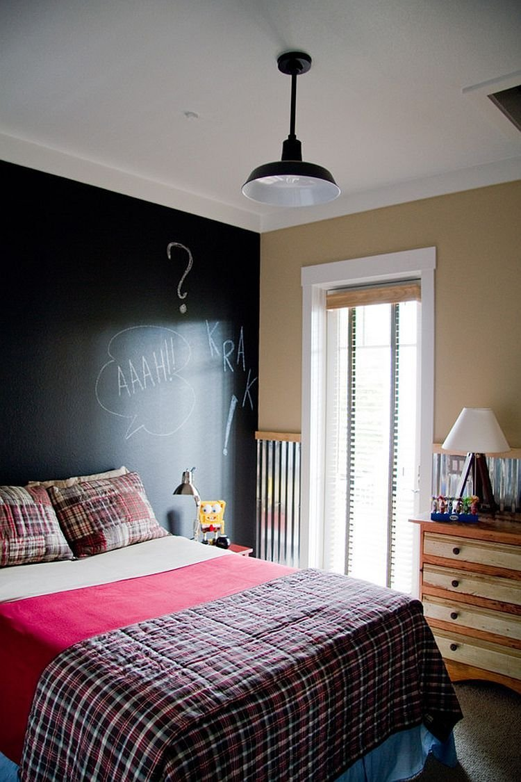 Best 35 Bedrooms That Revel In The Beauty Of Chalkboard Paint With Pictures
