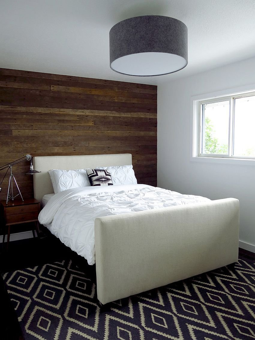 Best 25 Awesome Bedrooms With Reclaimed Wood Walls With Pictures