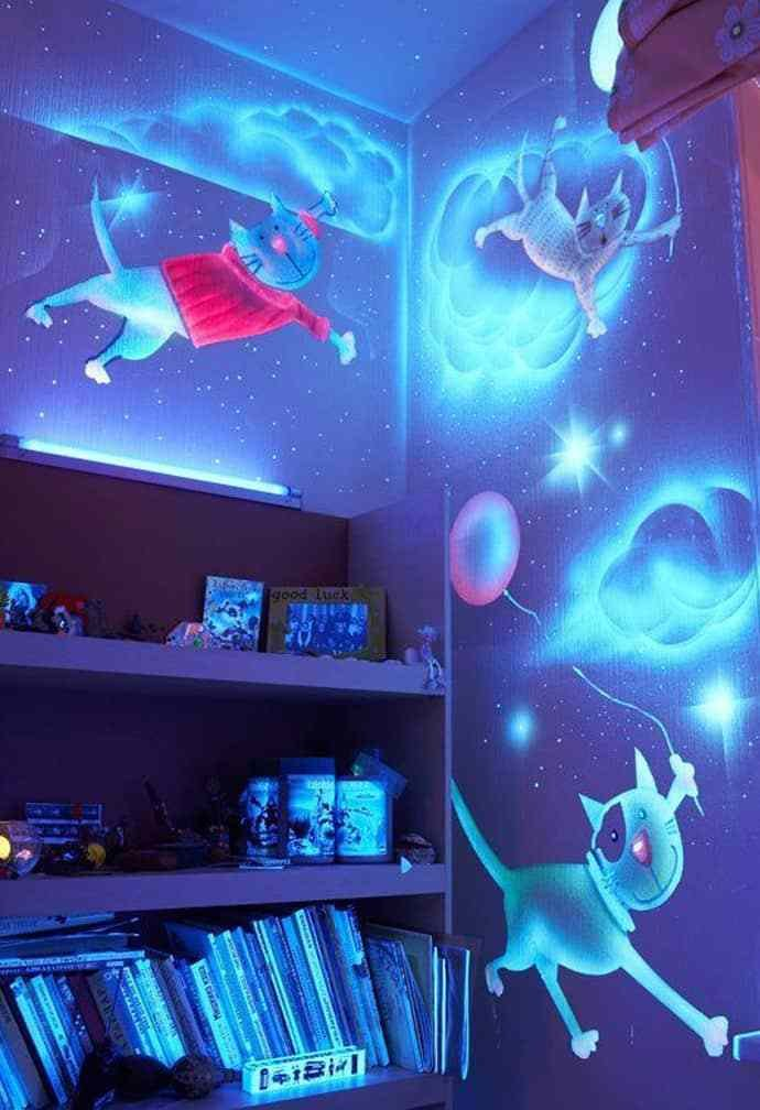Best Glow In The Dark Bedroom Decoration With Pictures
