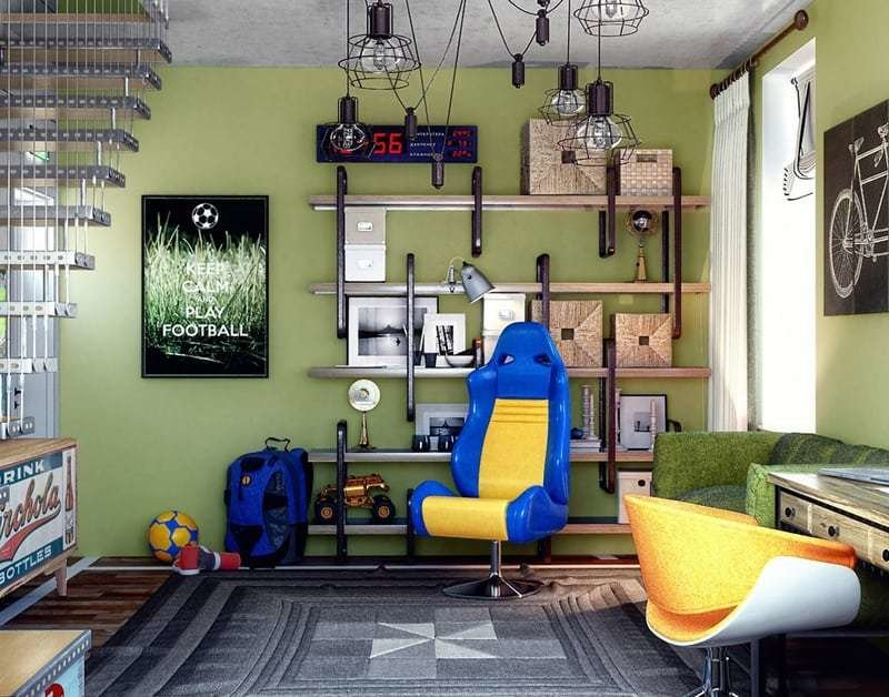 Best 15 Funky T**N Bedrooms Design Ideas That Any Teenager Will With Pictures