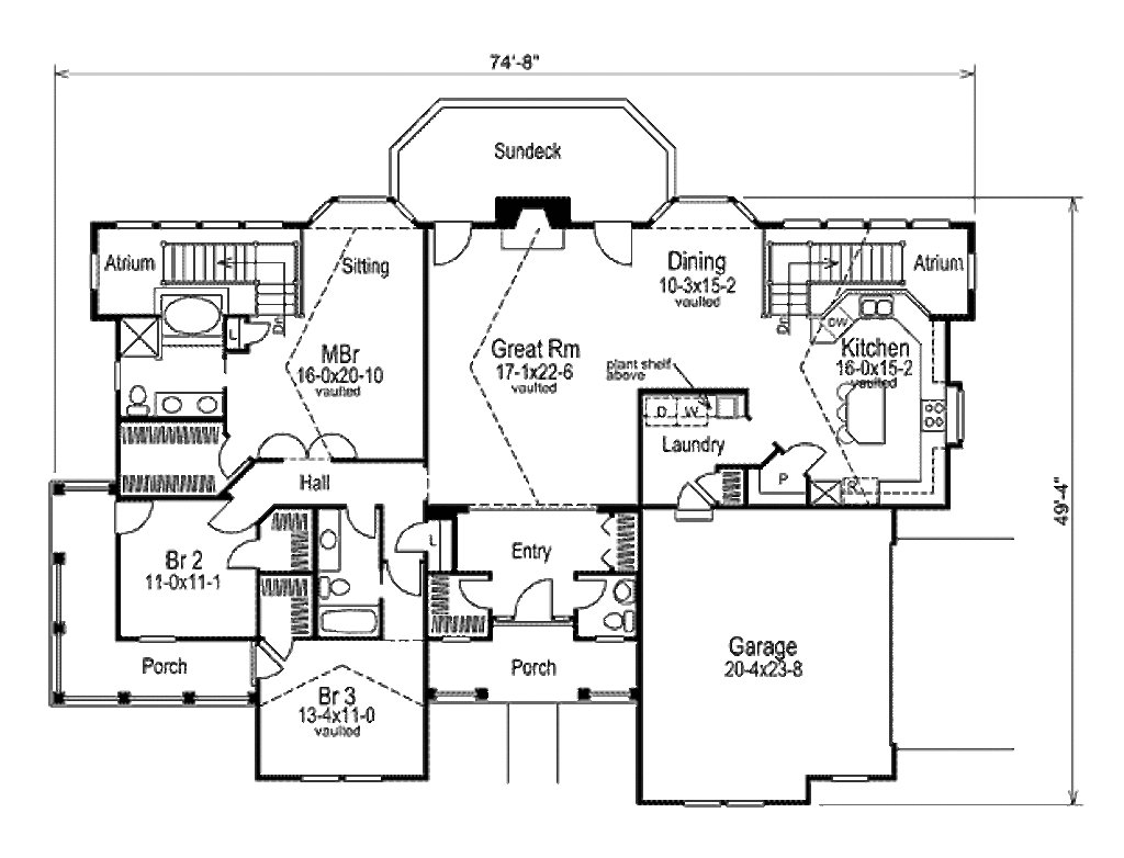 Best Cape Cod Style House Plan 3 Beds 2 5 Baths 2125 Sq Ft With Pictures