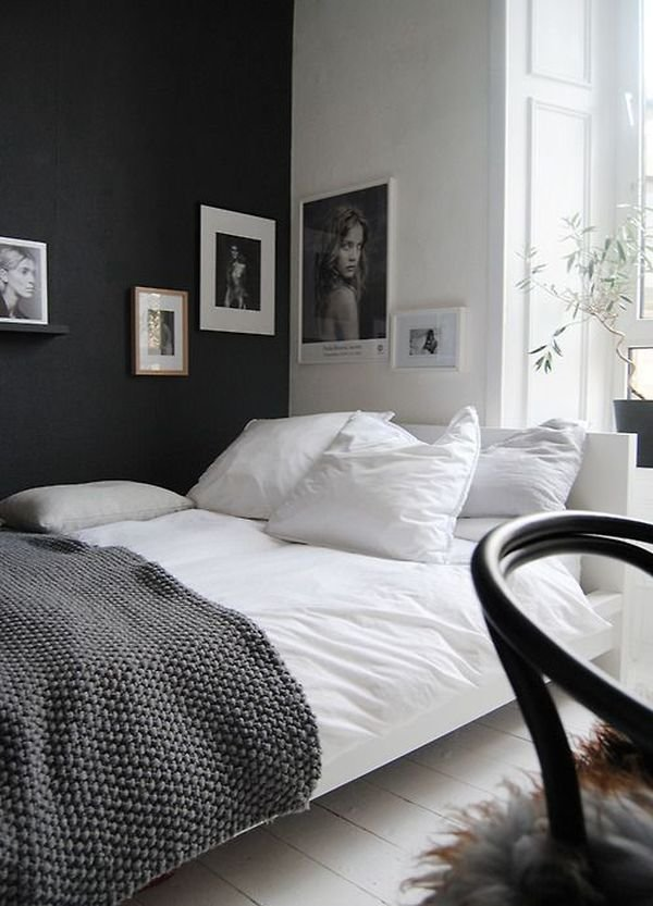 Best Accent Black Wall For Bedroom Home Decorating Trends With Pictures