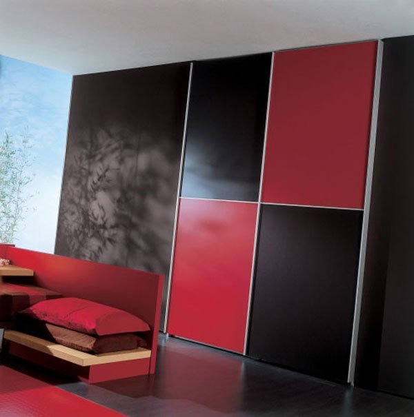 Best Elegant Black And Red Bedroom With Pictures