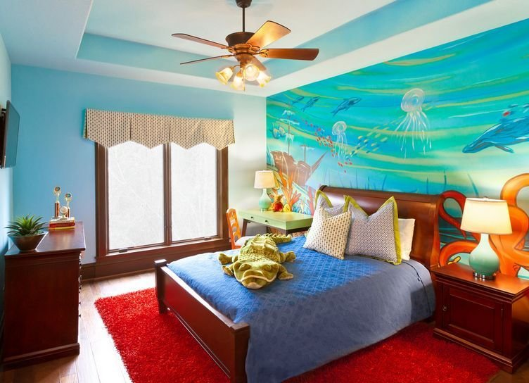 Best How To Turn Your Bedroom Into An Underwater Themed Space With Pictures