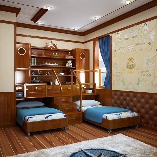 Best Sea Themed Bedroom For The Kids With Pictures