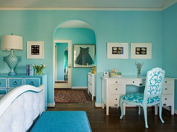 Best Turquoise Interior Design Inspiration Rooms With Pictures