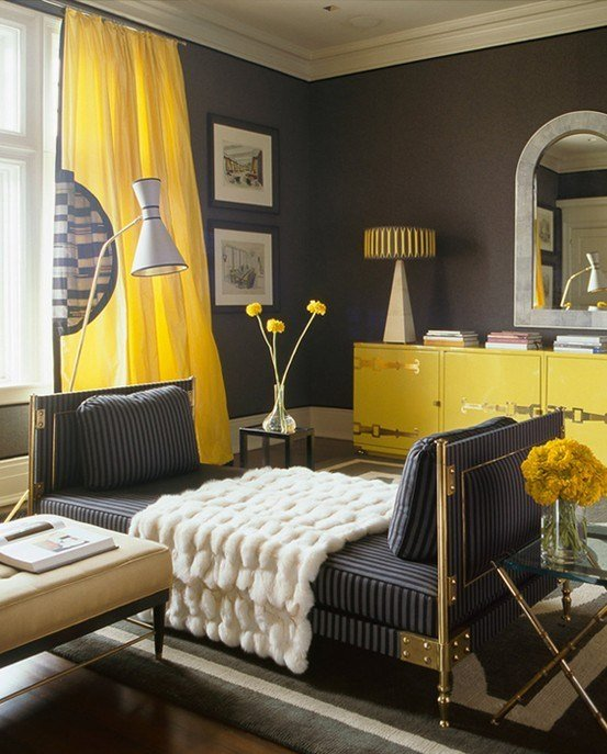 Best Hot Color Combo Yellow Gray With Pictures