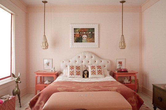 Best Sophisticated Bedroom With A Pink Interior Design With Pictures