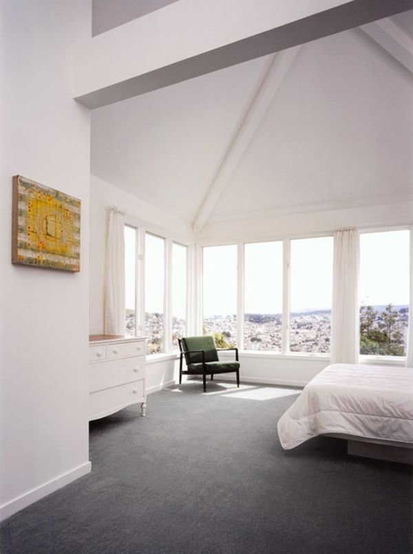 Best Example Grey Carpet And Wood Decor Interior Decorating With Pictures