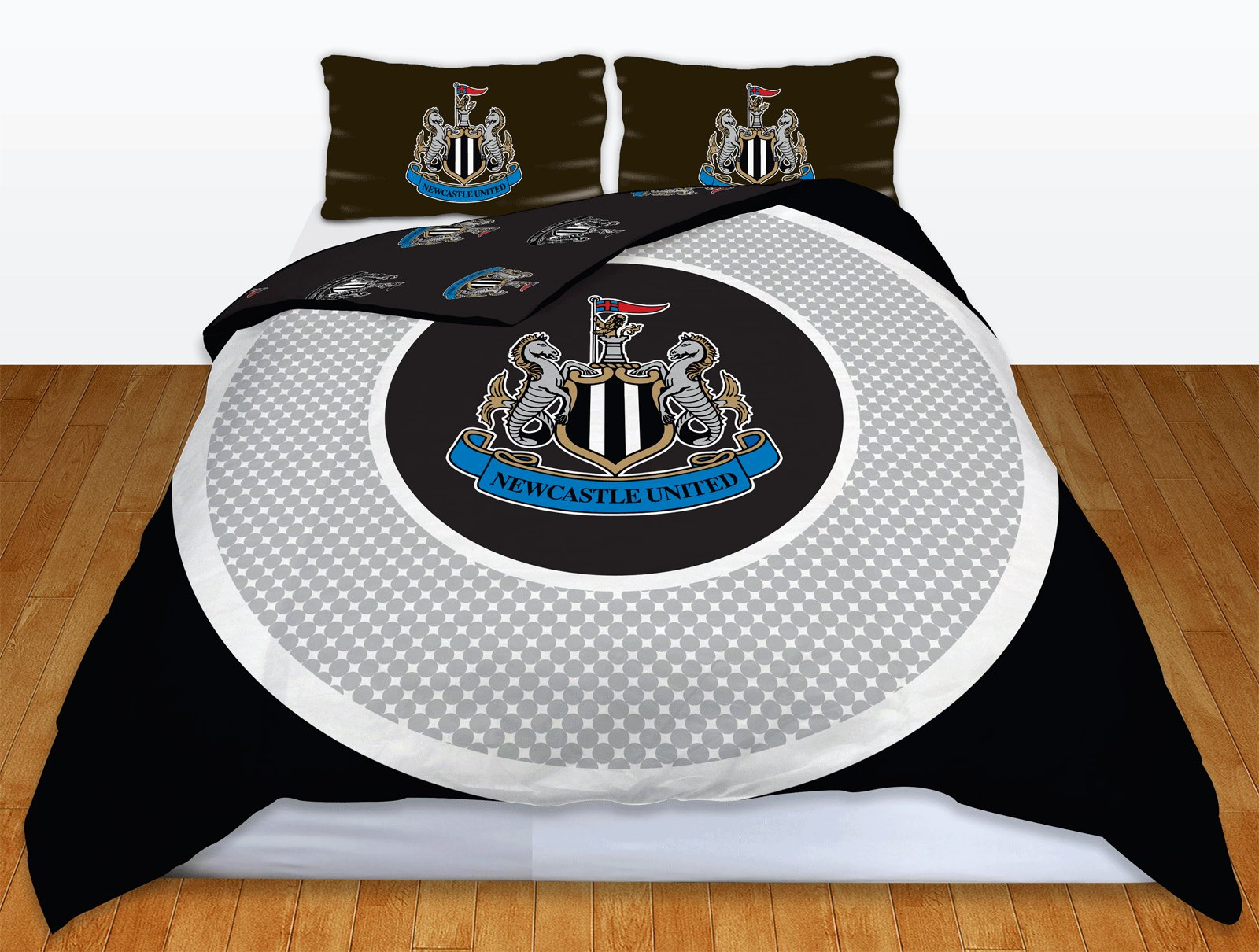 Best Newcastle Utd Fc Football Club Double Duvet Quilt Cover With Pictures