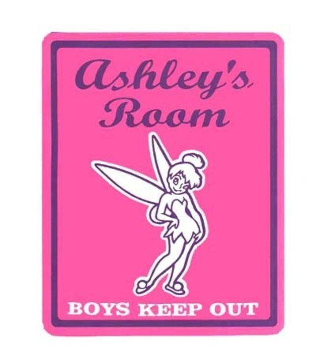 Best House Signs Name Plates – Personalized Tinkerbell Girls With Pictures