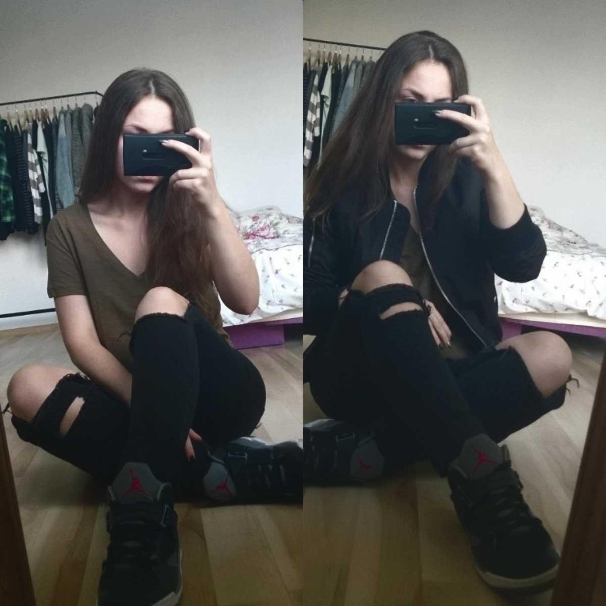Best Bedroom Selfie And Ch*Ck By Fuckandpound We Heart It With Pictures