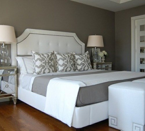 Best For The Home Grey And White Master Bedroom We Heart It With Pictures