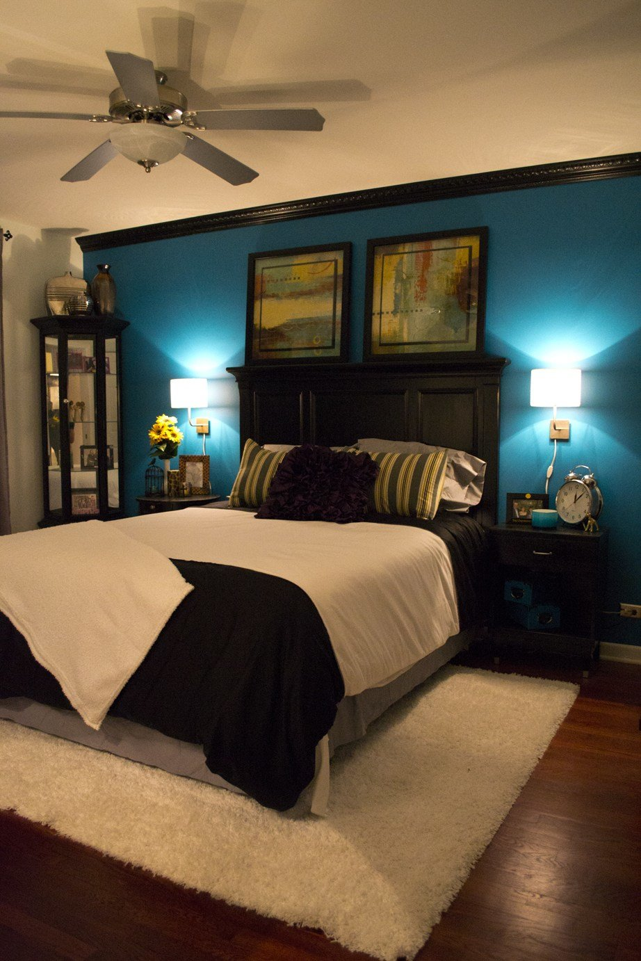 Best 25 Teal Bedroom Designs You Will Love To Copy Decoration With Pictures