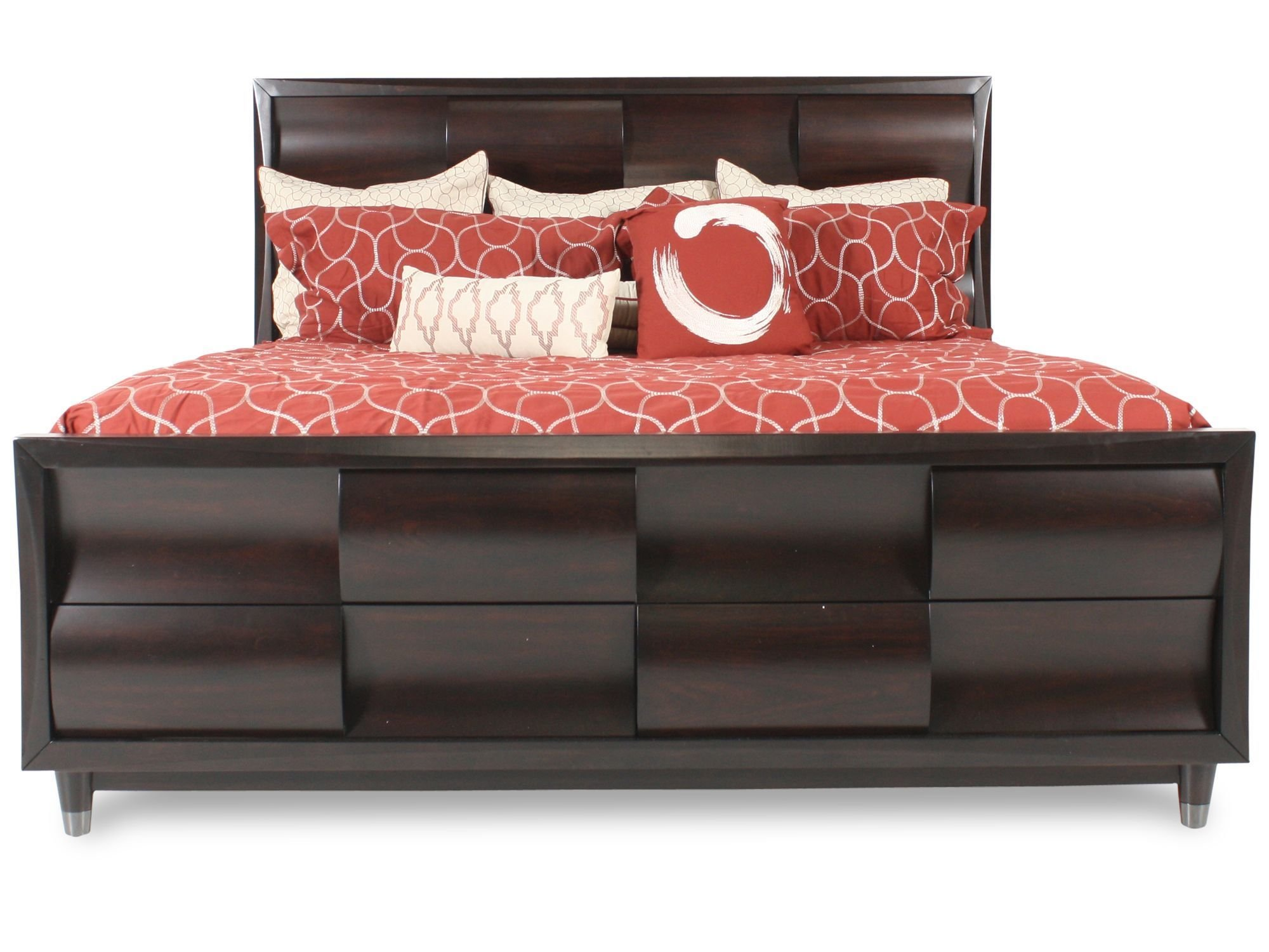 Best Magnussen Home Fuqua Bed Mathis Brothers Furniture With Pictures