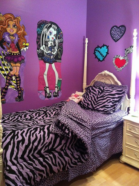 Best Monster High Room Decor Ideas For Kids Room With Pictures