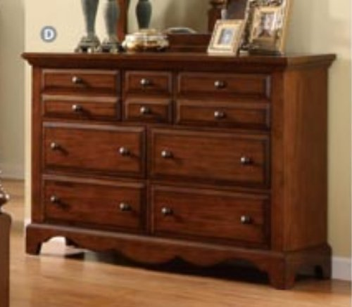 Best Palm Coast Solid Wood Light Walnut Finish Bedroom Dresser With Pictures