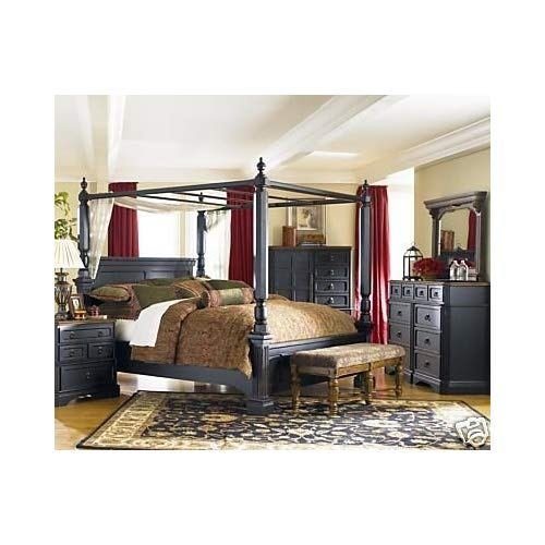 Best Amazon Com Rowley Creek Queen Bedroom Set By Ashley Furniture With Pictures