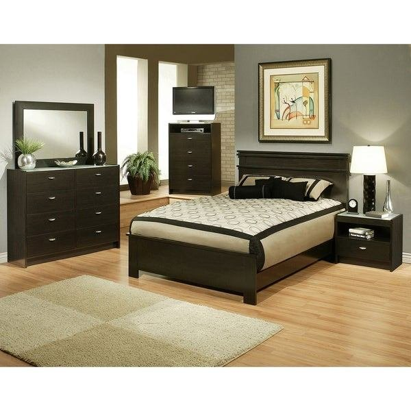 Best Sandberg Furniture Times Square Bedroom Set Overstock With Pictures
