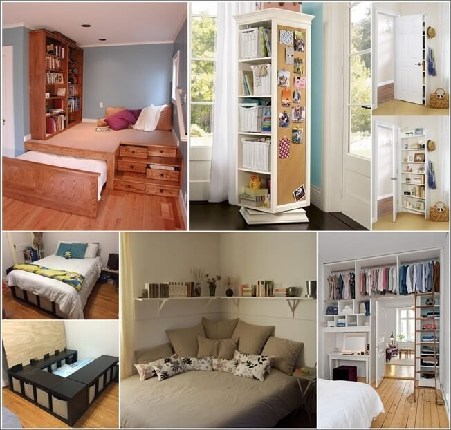 Best Storage Ideas For A Small Bedroom Fancy Diy Art With Pictures