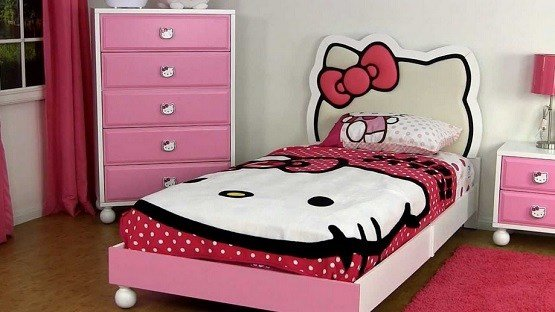 Best Hello Kitty Bedroom Furniture Design Ideas Home Interiors With Pictures
