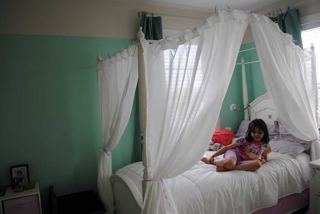 Best Diy Canopy Bed Design For Kids Bedroom Decorating Ideas With Pictures