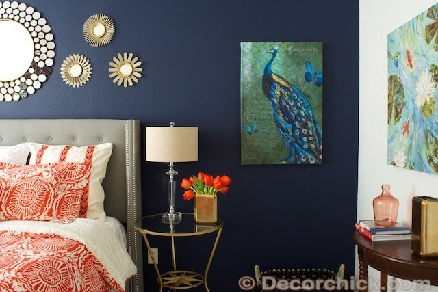 Best Navy Blue And Black Bedroom Ideas Home Delightful With Pictures