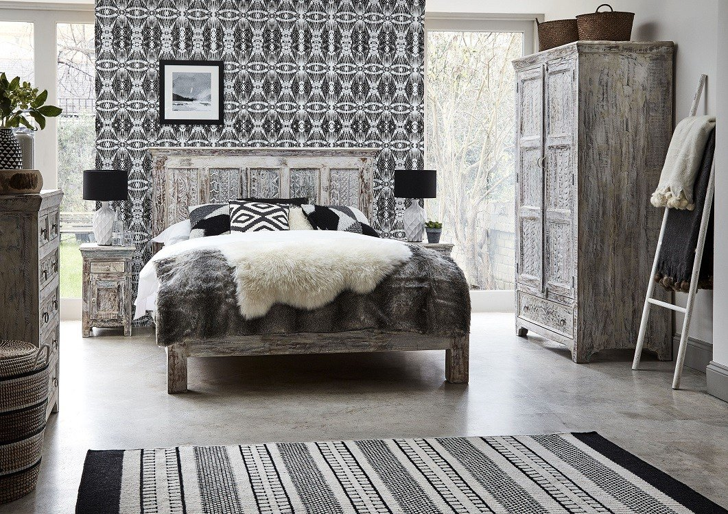 Best Reclaimed Wood Bedroom Furniture Homegirl London With Pictures